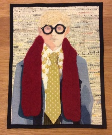 David Hockney Art Quilt